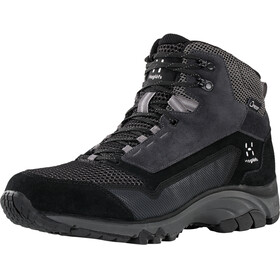 Haglöfs Skuta Proof Eco Mid Shoes Women True Black/Magnetite